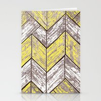SHORELINE CHEVRONS (2 of 3) Stationery Cards