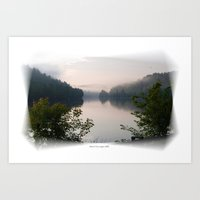 The Gatineau River Art Print