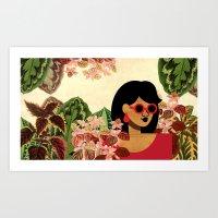 Bayou Girl I Art Print