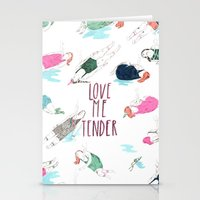 love me tender Stationery Cards