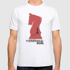 The Seventh Seal - Class… Mens Fitted Tee Ash Grey SMALL