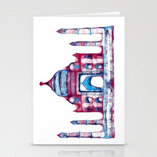 Taj Mahal Stationery Card