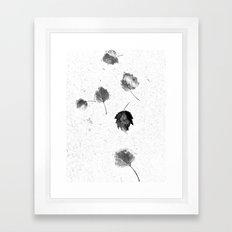 scatter Framed Art Print