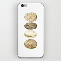 Edible Nuts iPhone & iPod Skin