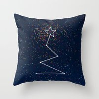 wish tree Throw Pillow