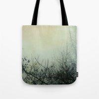 Dark Morning Tote Bag