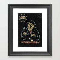 Sometimes I Just Want A … Framed Art Print