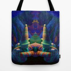 Sea Creature #2: The Shy Snailman Tote Bag