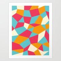 Boulderoid Series: Sunny… Art Print