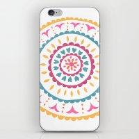 Suzani inspired floral 2 iPhone & iPod Skin