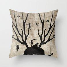 Dear Imaginary Friends Throw Pillow