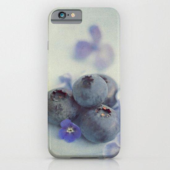 Blueberry Smile iPhone & iPod Case