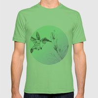 Hummingbird Mens Fitted Tee Grass SMALL