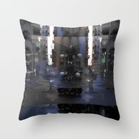 Forthcoming, But Only Sl… Throw Pillow