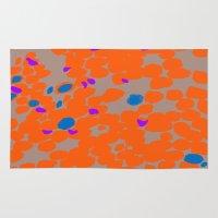Orange Dot Rug