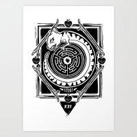 MambaSphynx Art Print