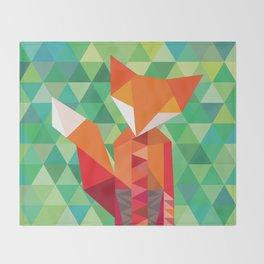 Throw Blanket - Fox in the woods - Mari Biro