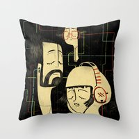 乐 Music V.2 Throw Pillow