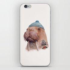 Tattooed Walrus iPhone & iPod Skin