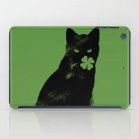 St Paddy's Cat iPad Case