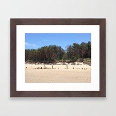 Woolgoolga 4 Framed Art Print