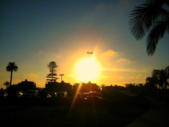 Air Plane In The Sun Art Print