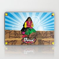 Paisana In Titicaca Lake… Laptop & iPad Skin