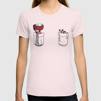 a little of Gravity Falls Womens Fitted Tee Light Pink SMALL