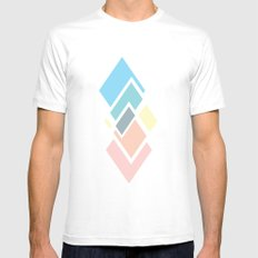 Lux Mens Fitted Tee White SMALL
