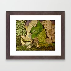 1976 Framed Art Print
