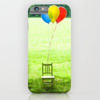 iPhone & iPod Case featuring Celebrate!  Balloons by Jean Ladzinski