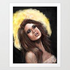 Gold Lust Art Print
