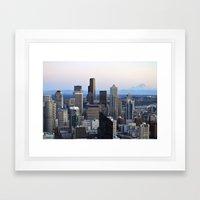 If It's The City Framed Art Print