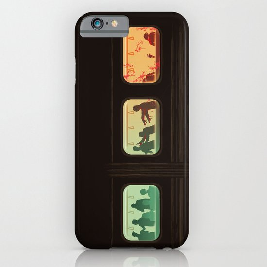 Ground Zero - Zombie Subway iPhone & iPod Case