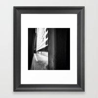 Window I Framed Art Print