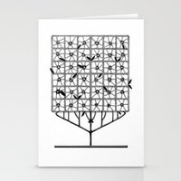 Tree Collection -2 Stationery Cards