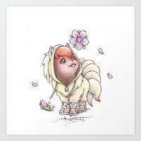 I too will Blossom Art Print