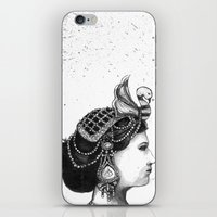 1920s Circus Queen iPhone & iPod Skin