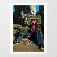 Broken Uncle Sam Art Print