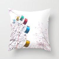De Fair Throw Pillow
