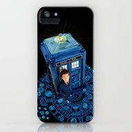 Doctor Who At Arch Of Ti… iPhone (5, 5s) Slim Case