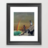 desert discoveries Framed Art Print