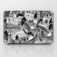 iPad Case featuring The Neutral Ground by BoWo