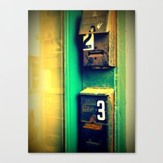 mailboxes Canvas Print