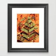 Super Tanklord Anatomy I… Framed Art Print