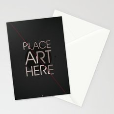 The Art Placeholder Stationery Cards