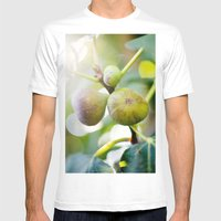 Figs Mens Fitted Tee White SMALL