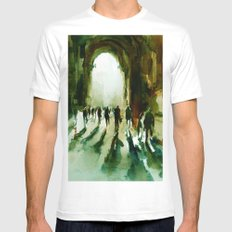 without an end or a beginning  Mens Fitted Tee White SMALL