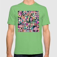 Romance Comic Mens Fitted Tee Grass SMALL
