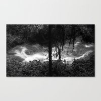 Dissipative Structure Canvas Print